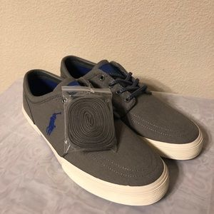 Polo Shoes, Faxon Gray and Blue